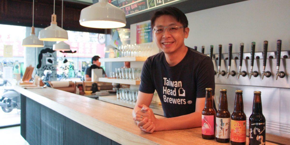 啤酒頭共同創辦人宋培弘,對自家產品很有信心。圖/邱家琳攝。
